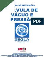 Válvula de Vácuo e Pressão Inox-1