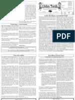 Issue 338 - Parashat Acharei Kedoshim - Living Torah