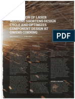 CDA Dinamyc - Laser Welging Simulation Shorten Design Cycle and Optimizes Components Design