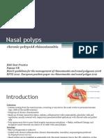ENT Nasal Polyps