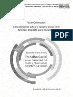 Unidade II Texto_MIOTO.R. Considerações Sobre Trabalho Social Com Familias