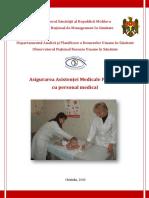 Asigurarea Asistenţei Medicale Primare Cu Personal Medical
