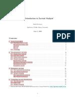 Survival Analysis Dengan Pendekatan R