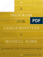 A Program for Conservatives