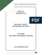 Desarrollo Del Modulo TOMO II