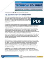 08-05-01 the Grounding Effectiveness at Rf