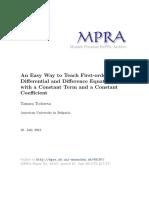 MPRA Paper 48187