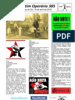 Boletim Operário 385