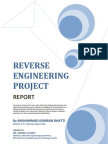 Reverse Engineering Project Report