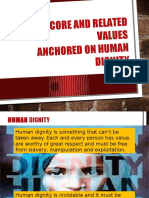 List of Core and Related Values