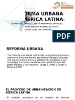 Reforma Urbana en America Latina- Orifial