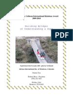 Nina Fay Calhoun Award - Intl Relations