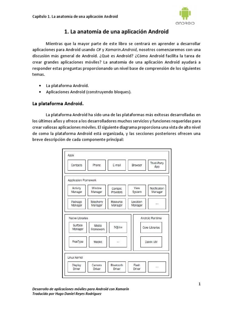 Desarrollo de Aplicaciones Android Con Xamarin