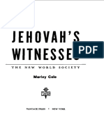 Jehovah's Witnesses - The New World Society by Marley Cole, 1955