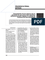 El criterio de lesa humanidad en los casos Barrios Altos, El Santa y Pedro Yauri. Acerca del R.N. N° 4104-2010-Lima
