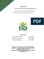Potensi dan Aktualisasl Manusia dalam Perspektif Pendidikan Islam