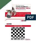 Planificación Curricular - Ef