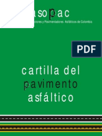 cartilla de asfalto