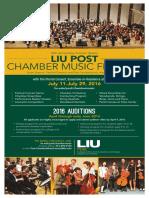 Liu Post Chamber Music Festival 2016 FINAL