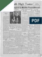 November 11, 1930 - SHS Tooter