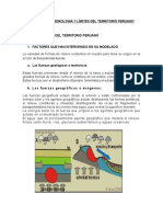 Morfologia, Hidrografia y Limites Del Peru (Autoguardado)