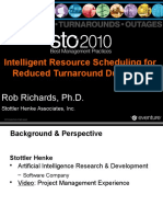 2010-06-07 STO 2010 Intelligent Resource Scheduling for Reduced Turnaround Durations (as Presented)