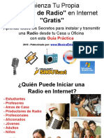 Tu Propia Radio en Internet -Gratis
