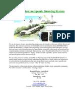 BioChar Vertical Aeroponic Growing Systems