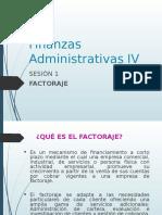 Sesion 1 Finanzas Administrativas IV Factoraje
