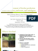 Life Cycle Assessment of Biochar
