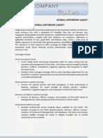 General Partnership Liability