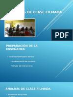 Análisis de Clase Filmada [Autoguardado]