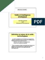 Presentation 2007 DES Veille