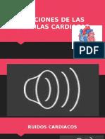 Funciones de Las Valvulas Cardiacas