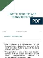 Tourism and Transportation