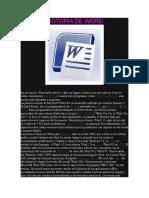 Historia de Word y Excel