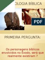 Arqueologia bíblica - Exodo