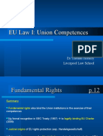 Union Competences notes