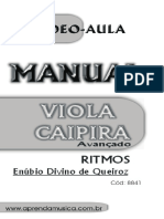 Manual Viola Caipira Avançado