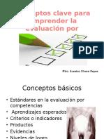 Conceptos Clave Para Evaluar Por Competencias