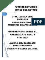Marcos Morales Guadalupe Aprendizaje Real y Virtual