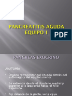 Páncreatitis aguda