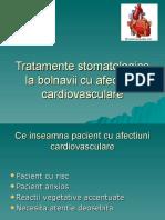 Tratamente Stomatologice La Bolnavii Cu Afectiuni Cardiovasculare
