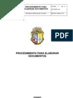Procedimiento Para Elaborar Documentos