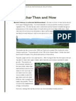 Biochar Then and Now