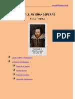 Shakespeare - Biografía