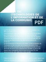 Les Tic (Technologies de l'Information Et de-ppt