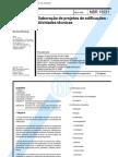 NBR 13531 - Elaboração de projetos e Edificações-Atividades técnicas