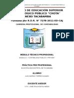 Informe de Prácticas en Municipalidad