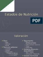 Estados de Nutrición